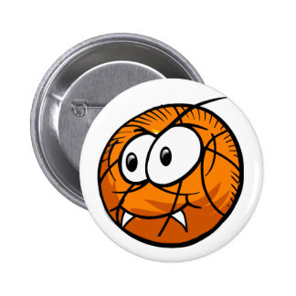 Crazy stressed Basketball Button