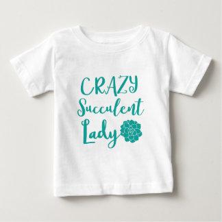 crazy succulent lady baby T-Shirt