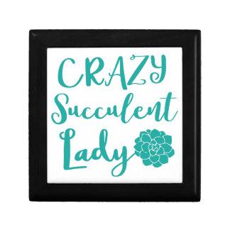 crazy succulent lady gift box