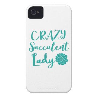 crazy succulent lady iPhone 4 Case-Mate cases