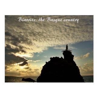 """""""Crazy Sunset""""- Biarritz Postcard"""