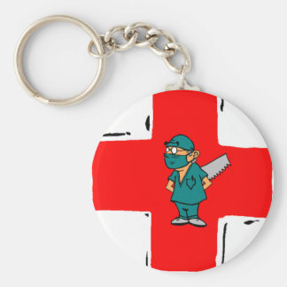 crazy surgeon key ring