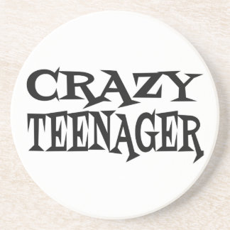 Crazy Teenager Beverage Coasters