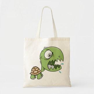 Crazy Tough Insane Turtle Bug Tote Bag