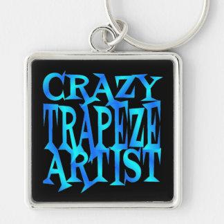 Crazy Trapeze Artist Keychain