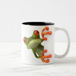 Crazy Tree Frog Coffee Mug