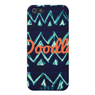 Crazy Tribal Doodle ZigZag Triangle Pattern iPhone 5 Cover