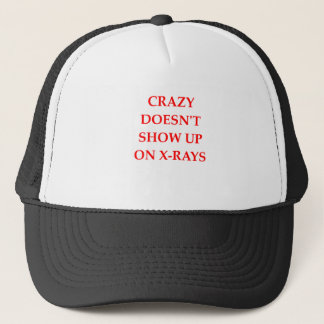 CRAZY TRUCKER HAT