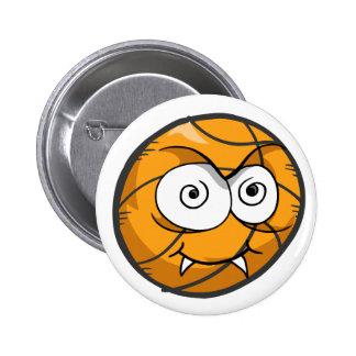 Crazy Vampire Basketball Button
