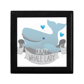 crazy whale lady gift box