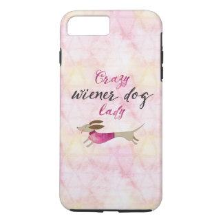 Crazy Wiener Dog Lady iPhone 8 Plus/7 Plus Case