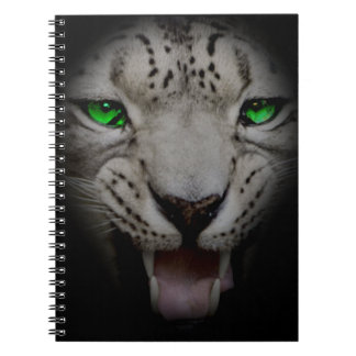 Crazy Wild Leopard Animal Cat Note Books