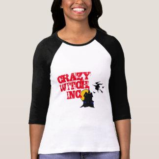 crazy witch, inc, spooky  halloween shirt, t-shirt