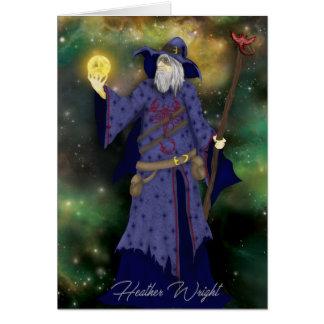 Crazy Wiz Biz, Space Wizard Art Card