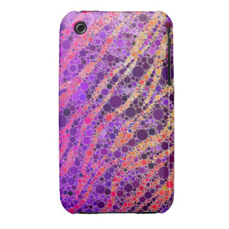 Crazy Zebra Abstract Case-Mate iPhone 3 Cases