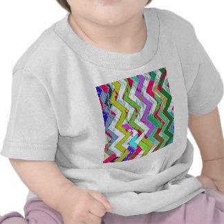 crazy zigzag plasma t-shirt