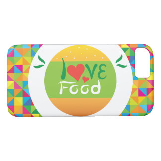 Crazydeal E6 Super colorful love food iPhone 8/7 Case