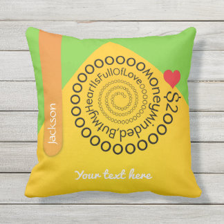 Crazydeal p476 cool crazy creative awesome love outdoor cushion