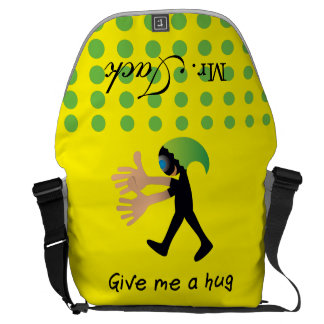 Crazydeal p619 cool crazy funny Give me a hug Commuter Bag
