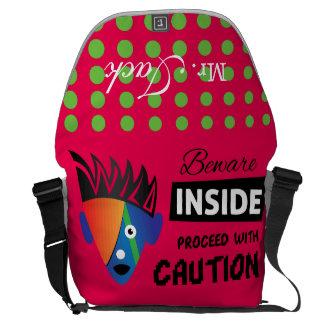 Crazydeal p621 Wild inside super crazy and funny Commuter Bag