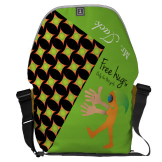 Crazydeal p662 cool crazy creative stylish awesome courier bag