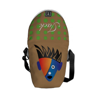 Crazydeal p698 Wild Super cool crazy funny awesome Messenger Bags