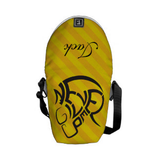 Crazydeal p700 Never give up inspiring creativity Courier Bag
