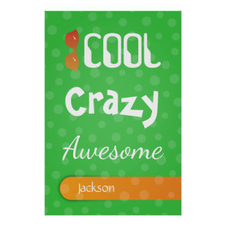 Crazydeal p771 cool crazy creative amazing awesome poster