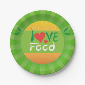 Crazydeal super awesome party love food design paper plate