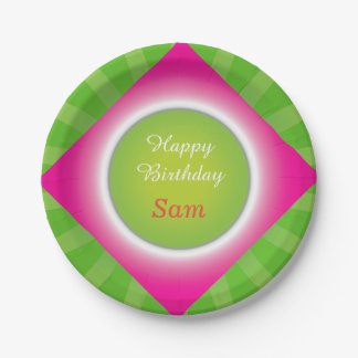 Crazydeal super birthday party design 7 inch paper plate