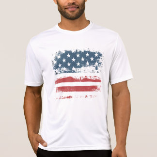 CRAZYFISH american flag T-Shirt