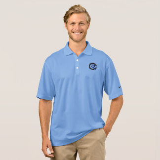 CRC Men's Blue Dry Fit Nike Polo