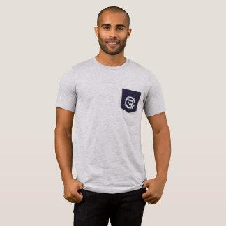 CRC Men's Pocket Grey T-Shirt