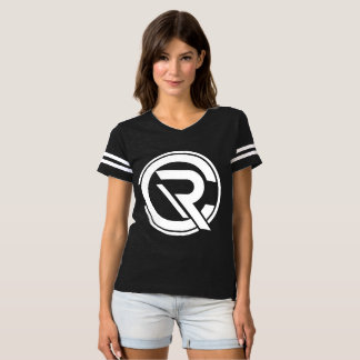CRC Women's Black Football T-Shirt