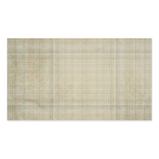 cream and gray plaid business card templates