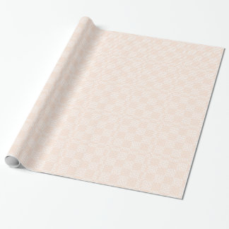 Cream And White Japanese Print Gift Wrap Paper