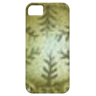 cream ball with ferns barely there iPhone 5 case