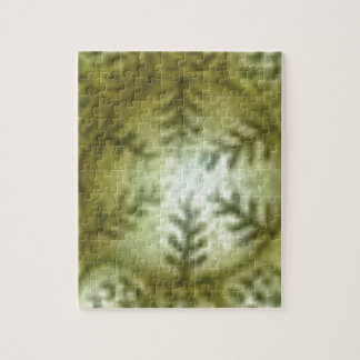 cream ball with ferns jigsaw puzzle