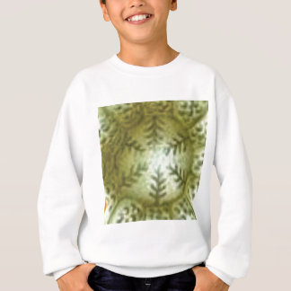 cream ball with ferns sweatshirt