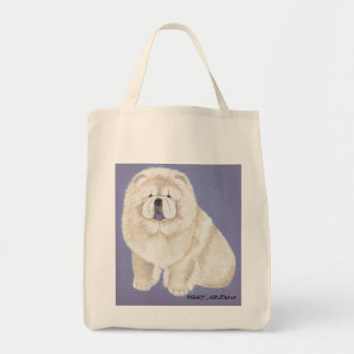 Cream Chows Bag