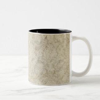 Cream Colored Grunge Coffee Mug