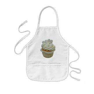 Cream Cupcake with Hearts Kids Apron