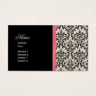 Cream Damask ~ Business Cards