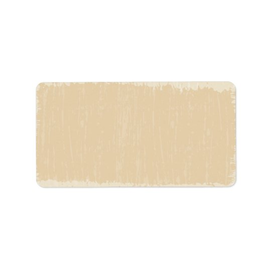Cream Distressed Address Label