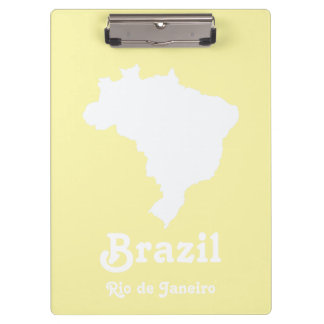 Cream Festive Brazil at Emporio Moffa Clipboards