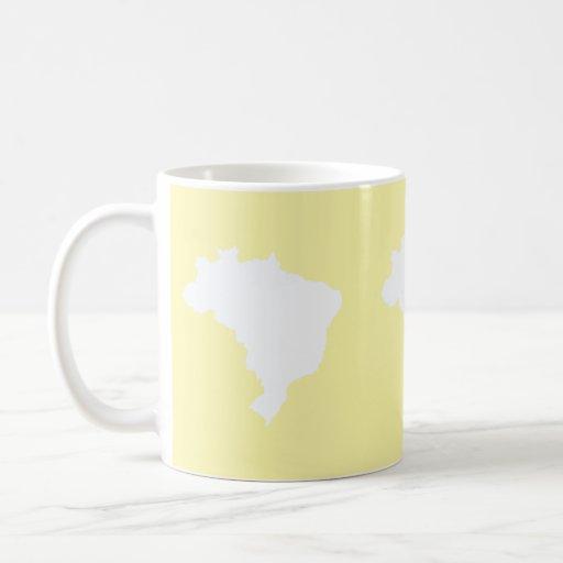 Cream Festive Brazil at Emporio Moffa Mugs
