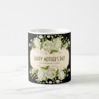 Cream Floral Happy Mother's Day Mug
