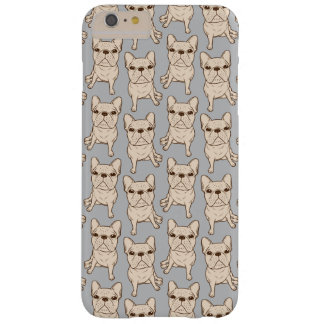 Cream French Bulldog Barely There iPhone 6 Plus Case