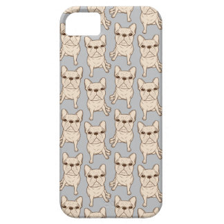 Cream French Bulldog Case For The iPhone 5