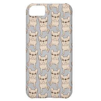 Cream French Bulldog iPhone 5C Case